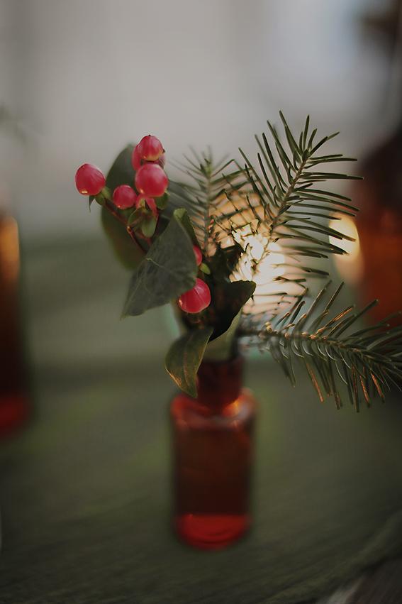 mariage hiver fleurs