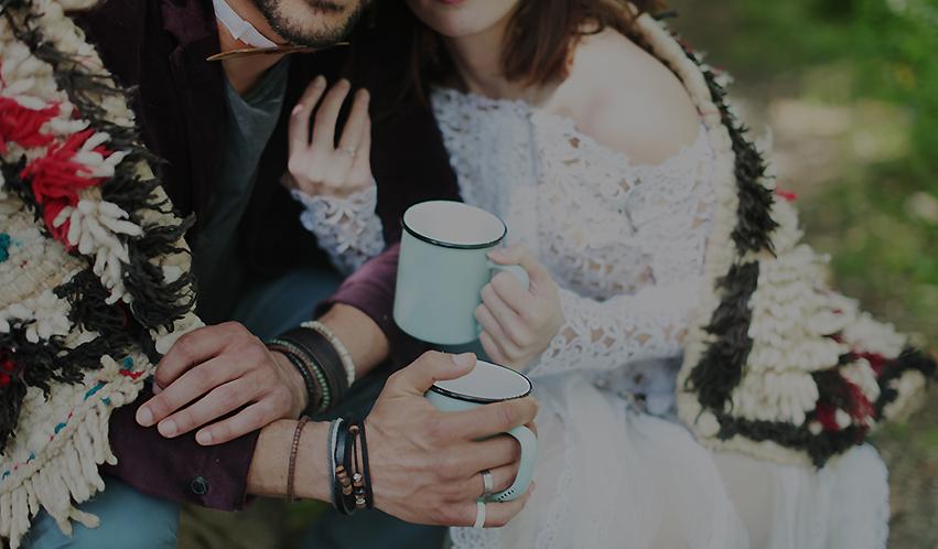 mariage boho en foret